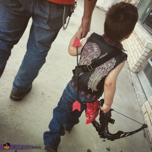Wings and Arrows, Baby Daryl Dixon Costume