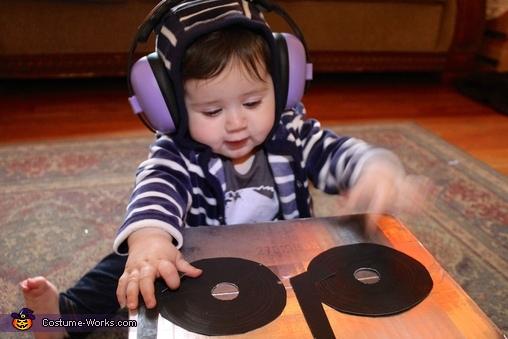 Baby DJ Costume