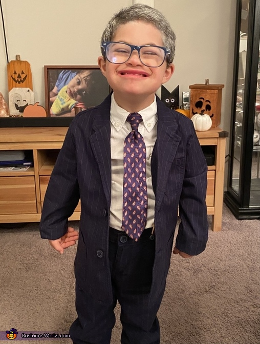 The cutest Dr. Fauci you'll ever see, Baby Doctor Fauci Costume
