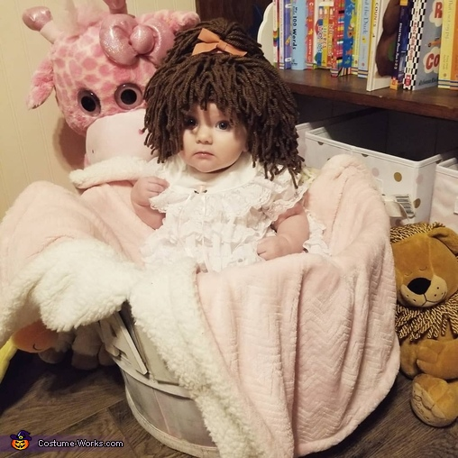 Baby Doll Homemade Costume