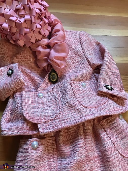 The outfit, Baby Dolores Umbridge Costume