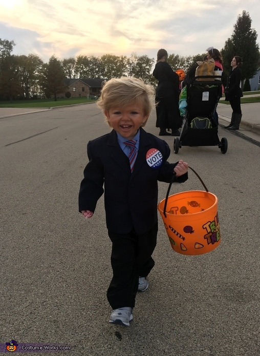 Baby Donald Trump Costume