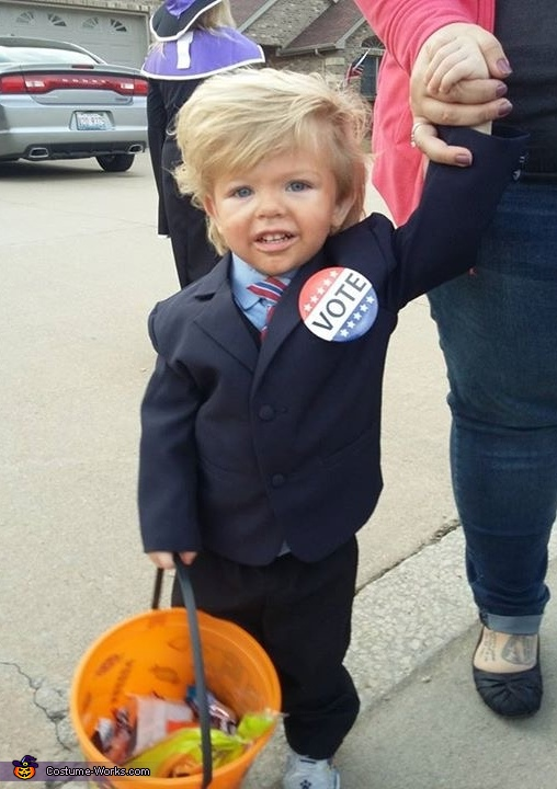 Baby Donald Trump Homemade Costume