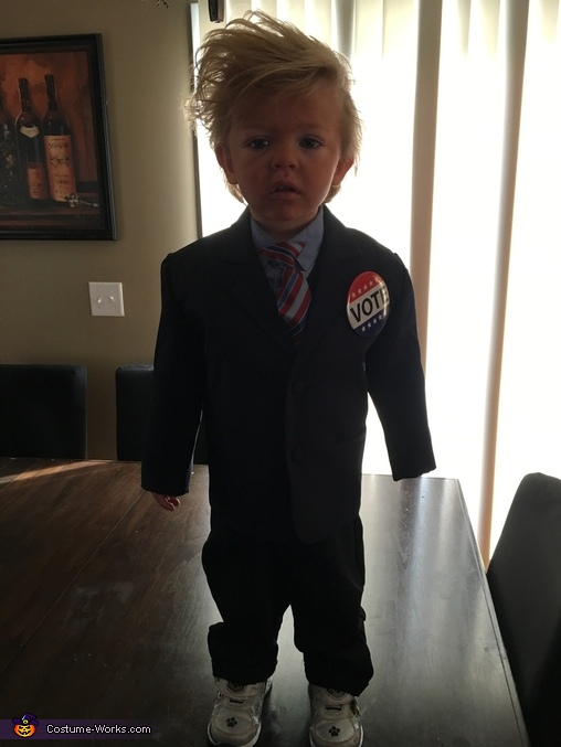 Baby Donald Trump Homemade Costume