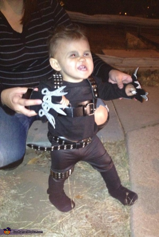 Cutest Baby Edward Scissorhands Costume
