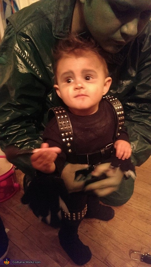 Baby Edward Scissorhands Homemade Costume