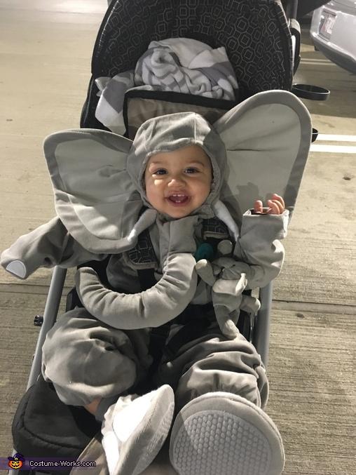 Cute Baby Elephant Costume