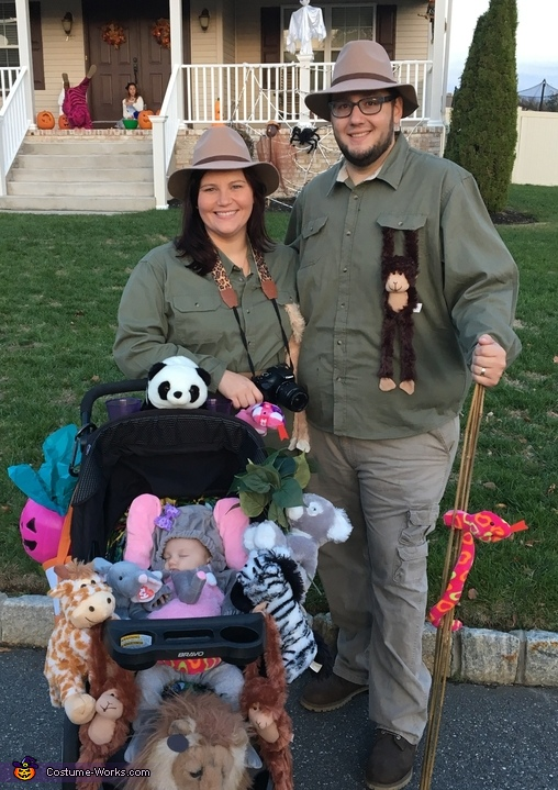 Baby Elephant and the Safari Costume