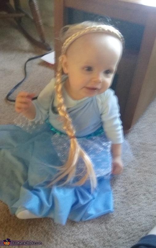 Baby Elsa Costume