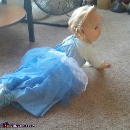 Runaway Elsa, Baby Elsa Costume