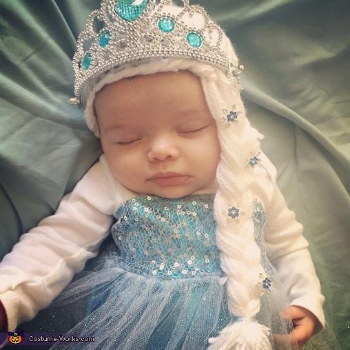 Baby Elsa Frozen Queen Costume