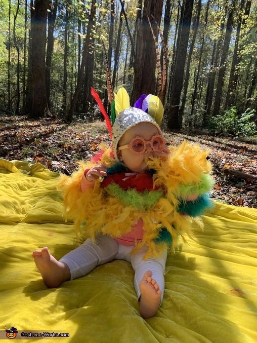 Baby Elton John Homemade Costume