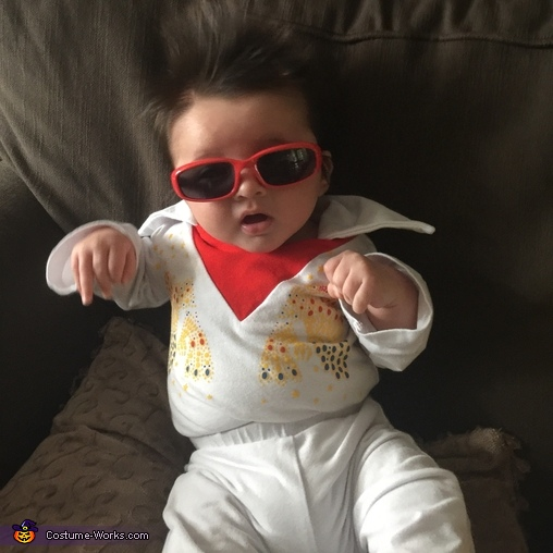 Cutest Baby Elvis Costume