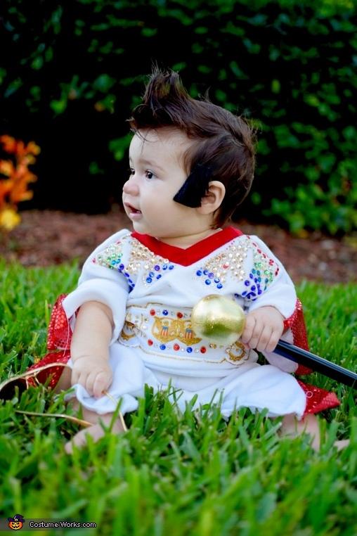 Teddy Bear, Baby Elvis Costume