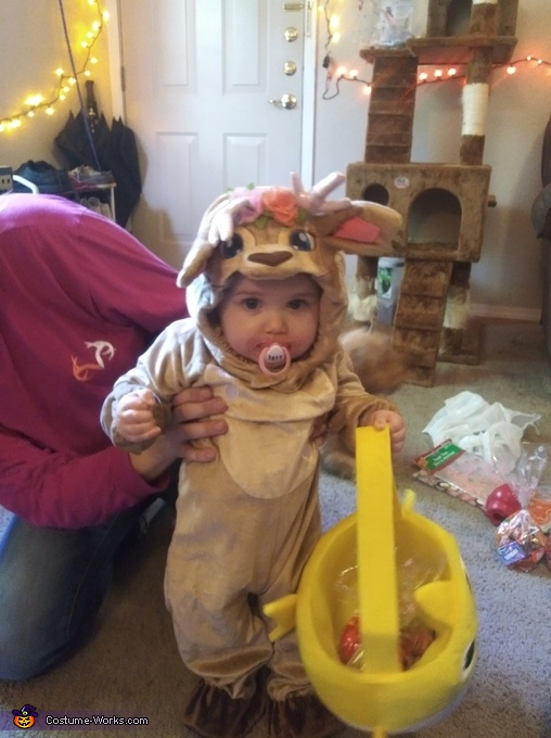 Baby Fawn Costume