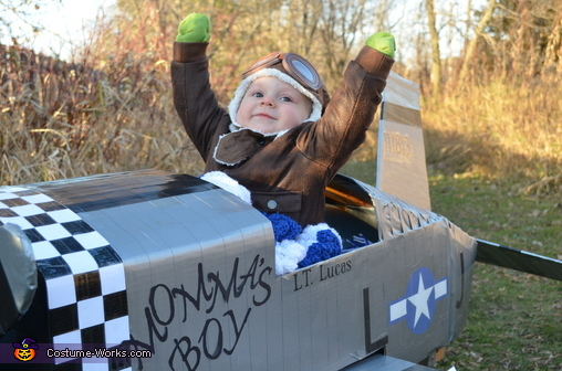 Baby Fighter Pilot Homemade Costume