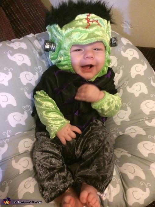 Baby Frankenstein Costume  sc 1 st  Costume Works & Baby Frankenstein Halloween Costume