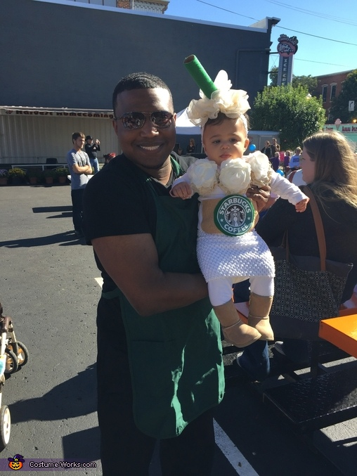 Baby Frappe Costume