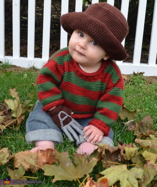 Baby Freddy Krueger Costume  sc 1 st  Costume Works : kids freddy costume  - Germanpascual.Com