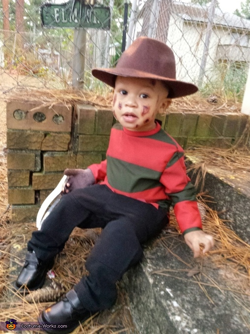 Baby Freddy Krueger Homemade Costume  sc 1 st  Costume Works : kids freddy costume  - Germanpascual.Com