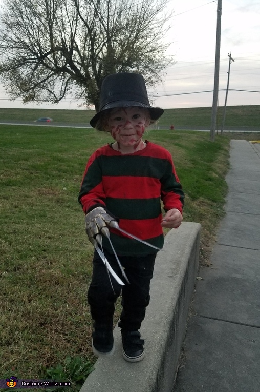 Baby Freddy Kruger Costume