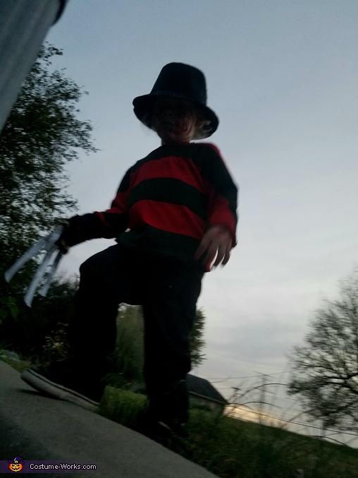 Baby Freddy Kruger Homemade Costume