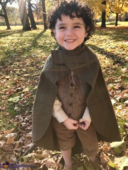 """""""Even the smallest person can change the course of the future."""" -J.R.R. Tolkien, Baby Frodo Costume"""
