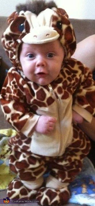 Baby Giraffe Costume  sc 1 st  Costume Works & Baby Giraffe Halloween Costume