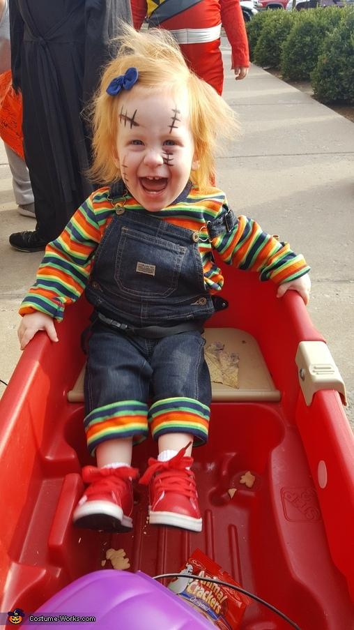 Baby Girl Chucky Costume