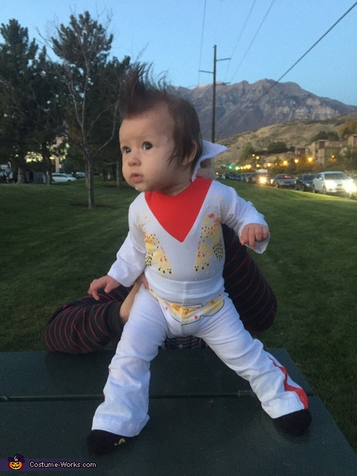ELVIS LIVES, Baby Girl Elvis Costume