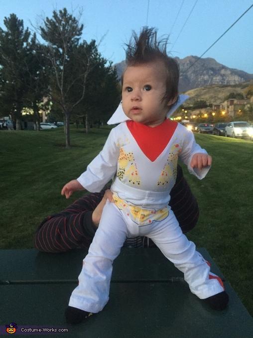 Baby Girl Elvis Costume