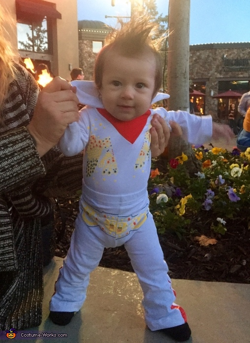 The KING, Baby Girl Elvis Costume
