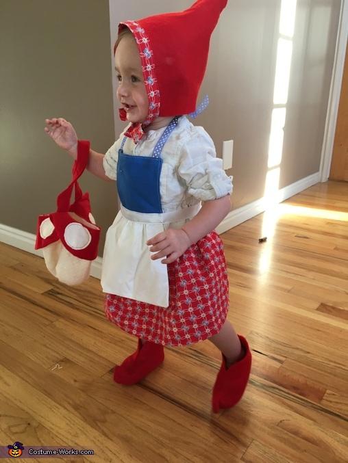 Baby Girl Gnome Homemade Costume