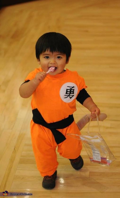 Baby Goku Costume
