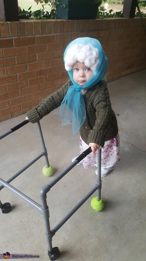 Baby Grandma Costume Idea