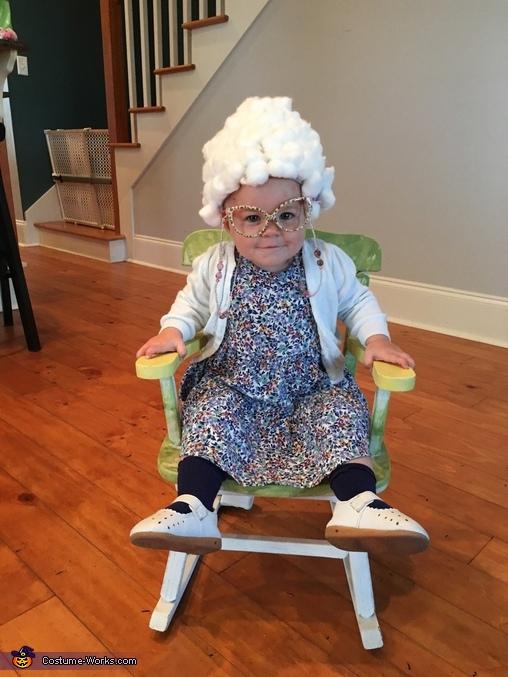 Baby Grandmother Homemade Costume