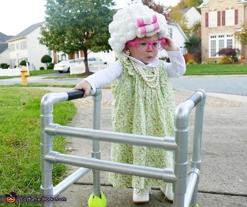 Baby Granny Costume