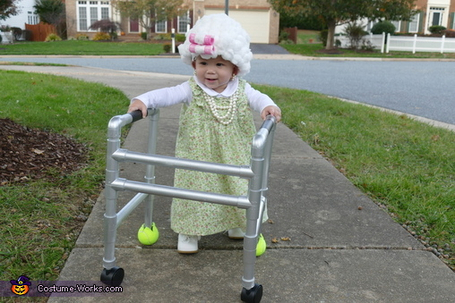 Baby Granny Homemade Costume