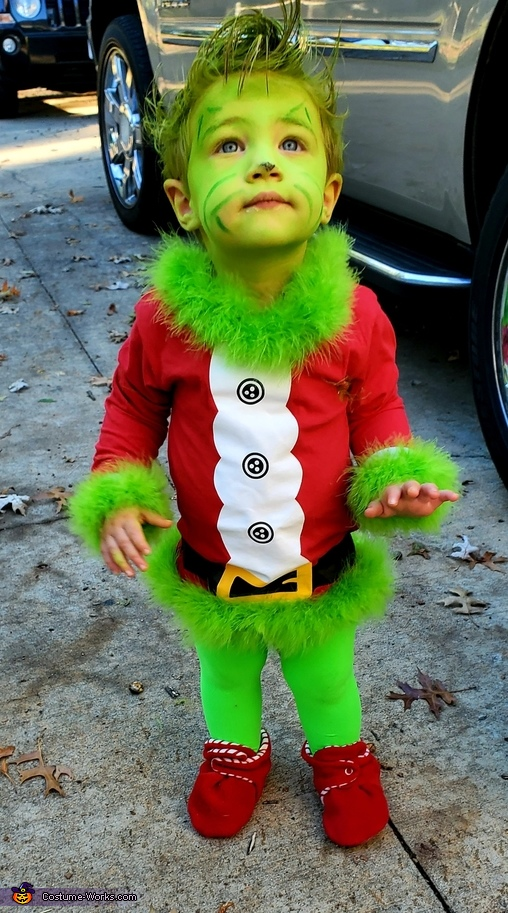 Baby Grinch Homemade Costume