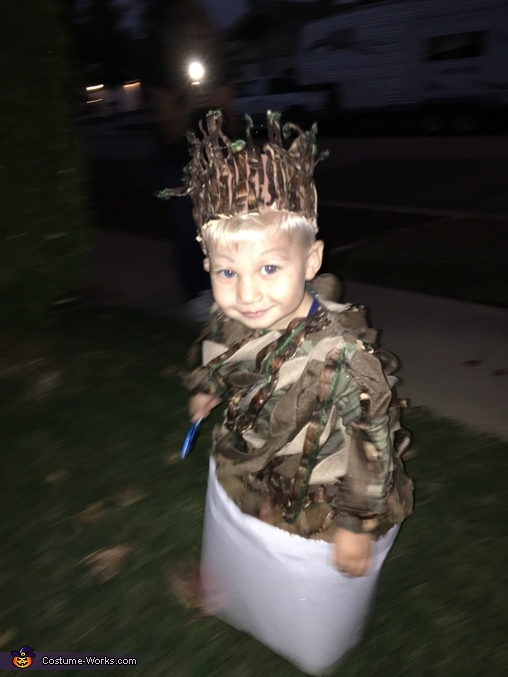 Baby Groot Costume Diy Photo 5 5