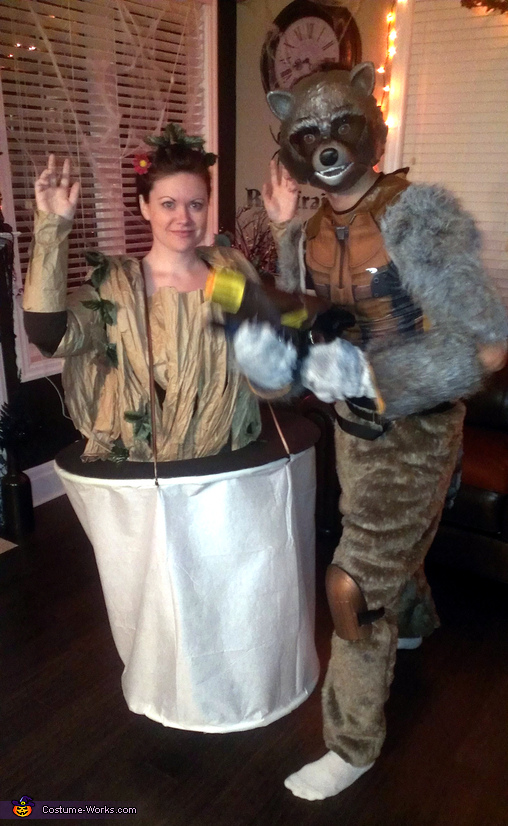 Baby Groot and Rocket Costume