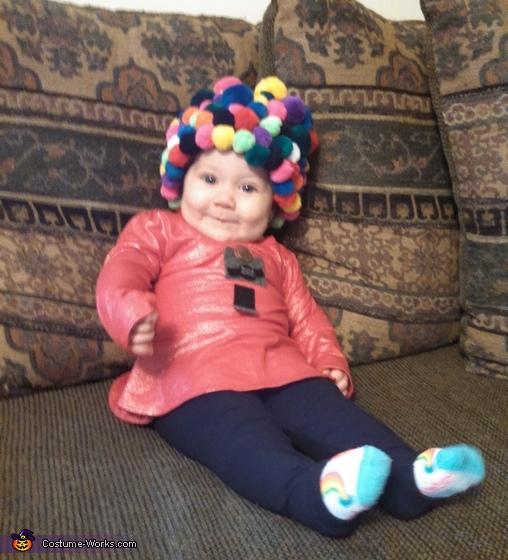 Gumball Machine Baby Costume