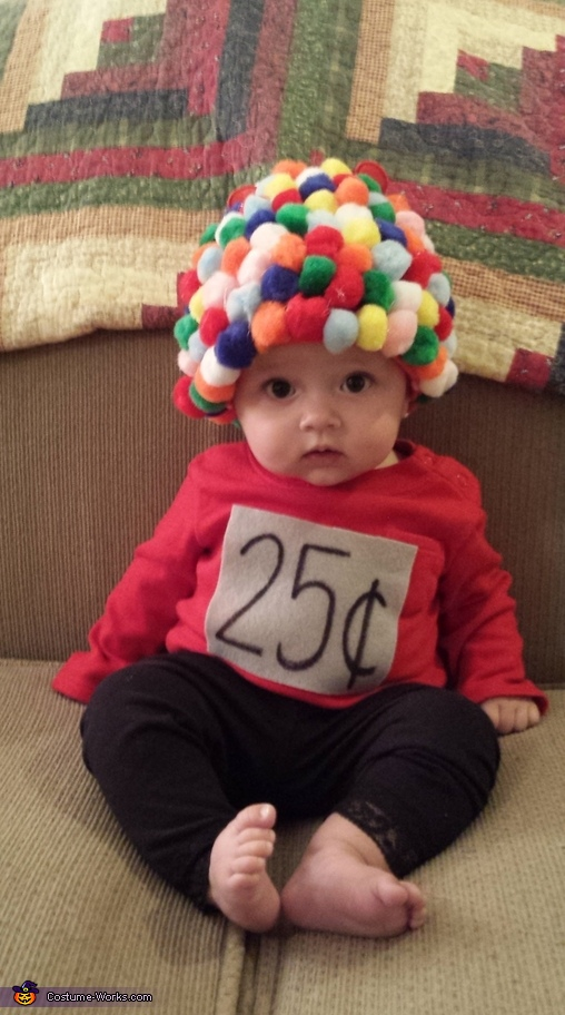 Baby Gumball Machine Costume