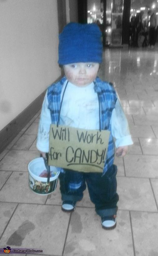 Baby Hobo Costume