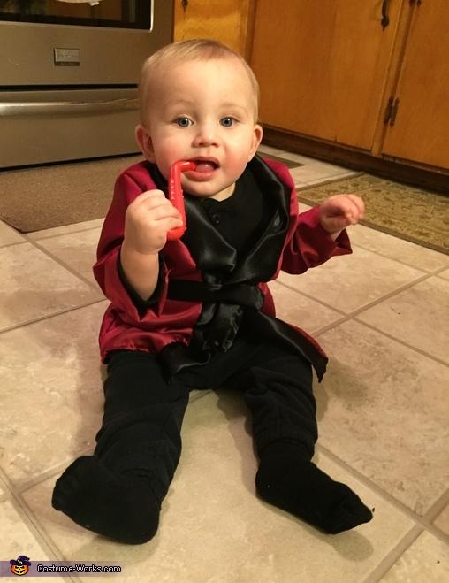 Baby Hugh Hefner Costume