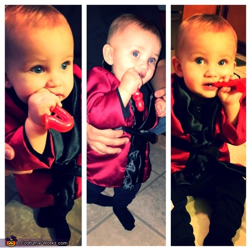 Collage, Baby Hugh Hefner Costume