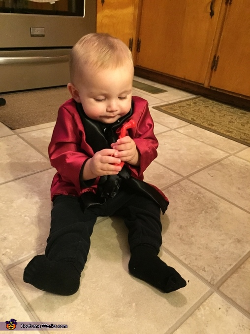 So cute, Baby Hugh Hefner Costume
