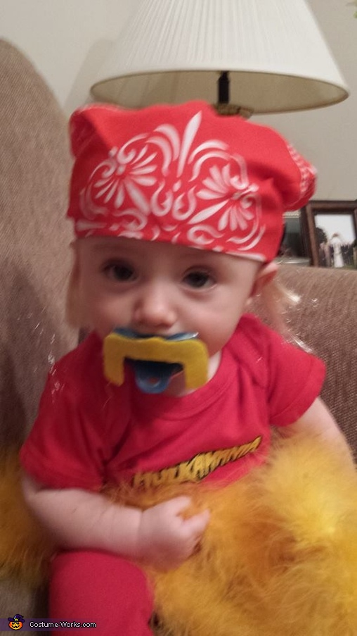 Hey brother!, Baby Hulk Hogan Costume