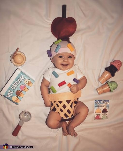 Baby Ice Cream Cone Costume