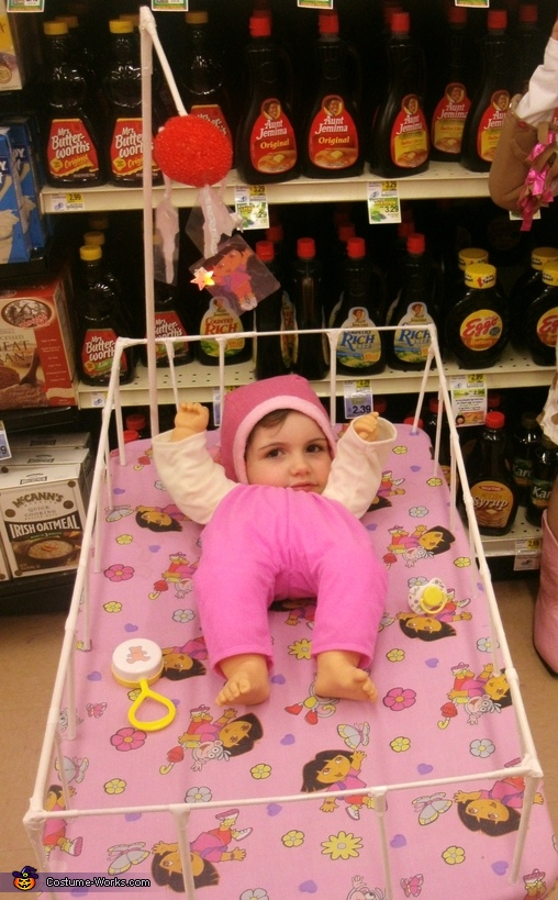 Baby in a Crib Costume